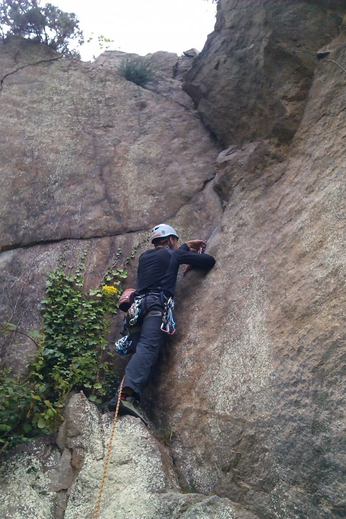 Dublin Rock Climbing - Dalkey Quarry  A guide for the first