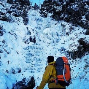 Winter Climbing Wicklow