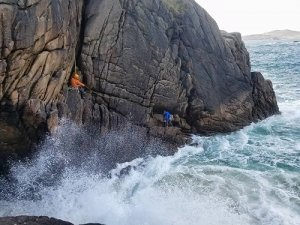 Sea Cliff Climbing Ireland