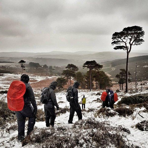 Hiking in Winter Ireland