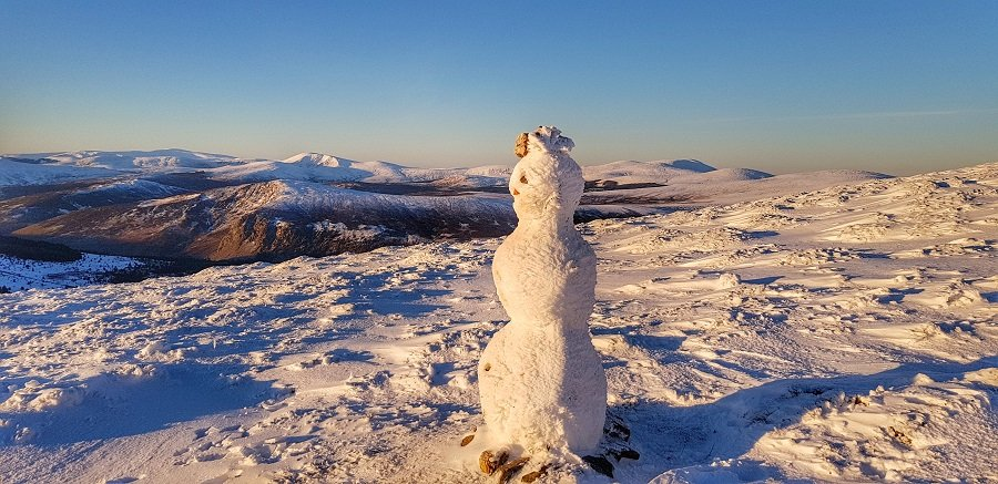 Winter in the Wicklow Mountains