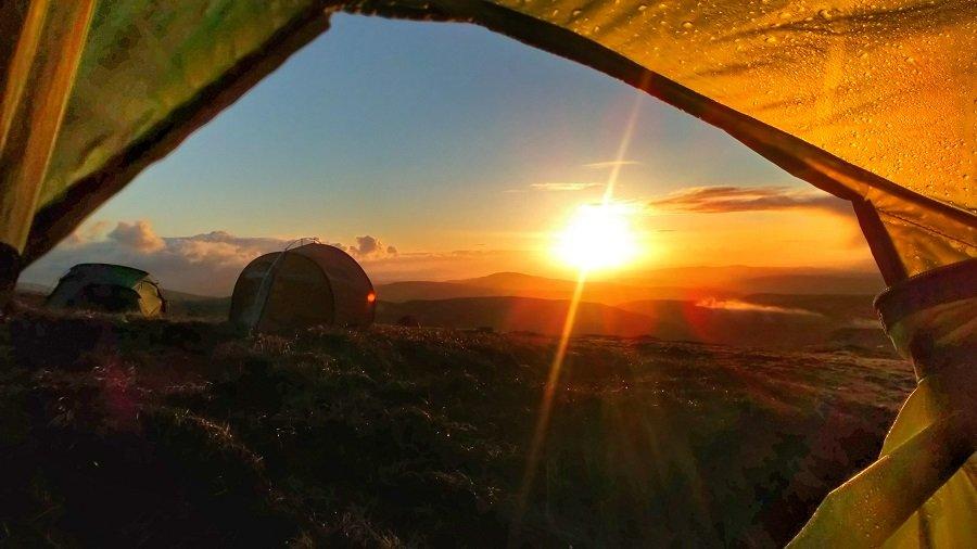 Wild Camping Ireland