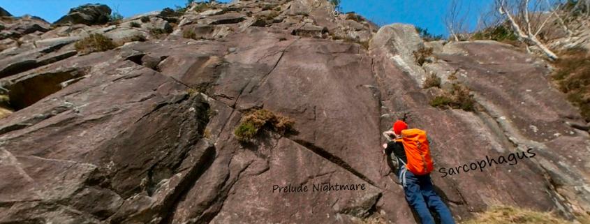Rock Climbing Glendalough